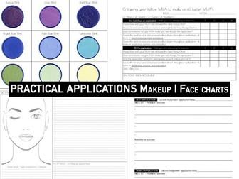 MAKEUP | Practical Applications Face Charts