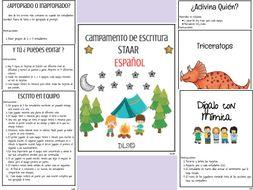 Writing Camp -Spanish - STAAR - 4th grade