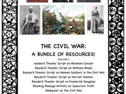 The Civil War: A Bundle of Resources!