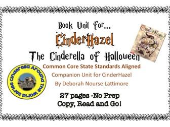 CinderHazel: No Prep Book Unit
