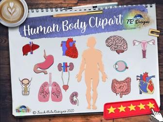Human Body Clipart