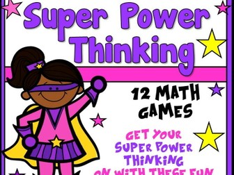 Super Power Thinking Math Games_Super Kids