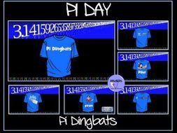 Pi Day Dingbats
