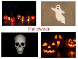 30 halloween photos powerpoint presentation 31 different teaching