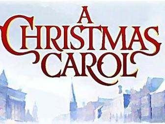 A Christmas Carol key extract booklet