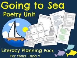 Sea/Seaside Poetry Planning