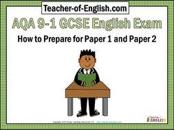 Aqa 9 1 gcse english exam paper 1 and paper 2 389 slide editable aqa 9 1 gcse english exam paper 1 and paper 2 389 slide malvernweather Choice Image
