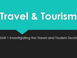 travel and tourism unit 3