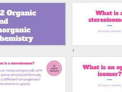 AQA A-level Chemistry revision powerpoint