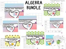 Algebra Activities Pack