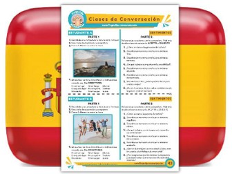 Sentimientos - Spanish Speaking Activity