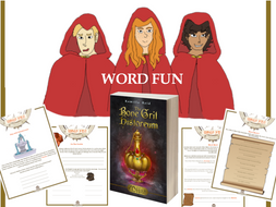 Word Fun inspired by the bestselling middle grade novel, Miist by Kamilla Reid