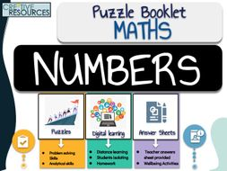 Maths Work  Booklet - Numbers