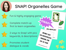 Organelles game of SNAP! | GCSE 9-1
