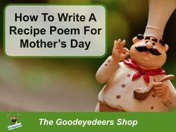 How To Write A Recipe Poem For Mother's Day