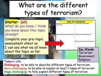 Terrorism Introduction