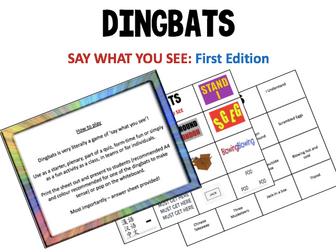 Dingbats Quiz