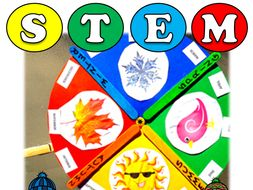 Season Wheel: STEM based Activity, Fraction Learning: Pre-k to Grade 2