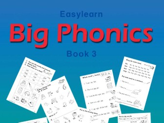 BIG PHONICS BOOK 3