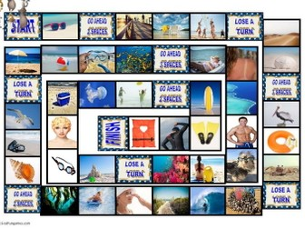 Beaches Animated Board Game