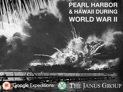 PEARL HARBOR & HAWAII DURING WORLD WAR II #GoogleExpeditions #ELA #WWII #SocialStudies
