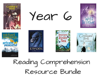Year 6 Reading Comprehension Bundle