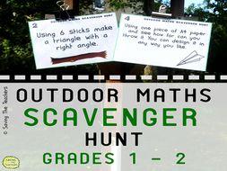 Math Scavenger Hunt Activity: Years 2 -3