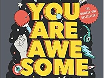 You Are Awesome book by Matthew Syed  lessons, start of term unit of work building growth mindset