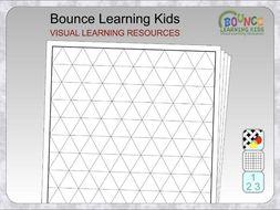 Graph paper - triangles