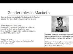 macbeth gender quotes