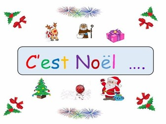 Updated - Christmas Activities Folder- A French Resource for Key Stage 2/3