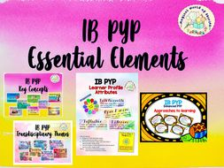 IB PYP Back to school Bundle