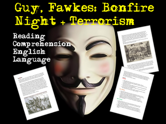 Bonfire Night - Guy Fawkes Reading Comprehension