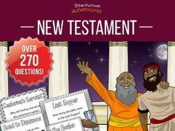 Bible Task Cards: New Testament