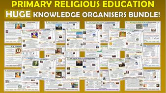 Huge Primary RE Knowledge Organisers Bundle!