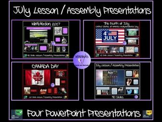 July Assemblies