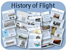 The history of flight & the first aeroplane flight: PowerPoint presentations