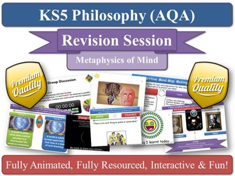 Physicalism / Behaviourism ( AQA Philosophy ) Metaphysics of Mind - Revision Session AS/ A2 KS5