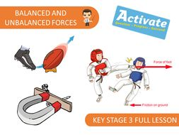 Balanced and Unbalanced Forces (KS3 Activate)