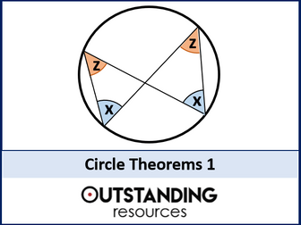 Circle Theorems 1 - Rules 1 to 4 (+ worksheet + handouts)