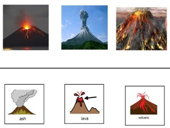Volcano - Geographical Landforms: A multi-sensory introduction to Volcanoes