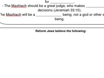 Eduqas Religious Studies Judaism B&T Component 3 Revision Grids