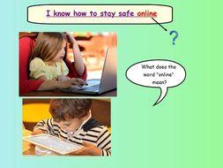 Internet Saftey lesson