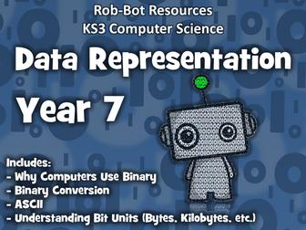KS3 Computer Science:  Data Representation - Year 7