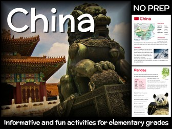 China (country study for elementary grades)