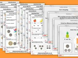 Year 2/3 Mixed Age Spring Block 2 Step 8 Maths Lesson Pack