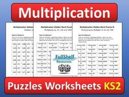 Multiplication Activities Finishers Starters