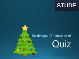 Computing Christmas Quiz 2016
