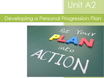 BTEC Level 1 Introductory: Vocational Studies - Unit A2 Developing a Personal Progression Plan