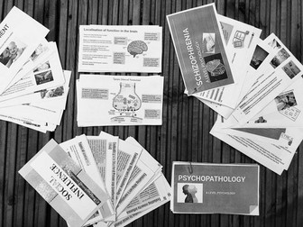A-Level Psychology Revision Cards